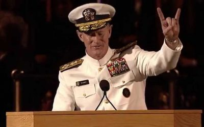 10 Lessons from Navy Seal, Admiral William H. McRaven at University of Texas at Austin 2014 Commencement Address