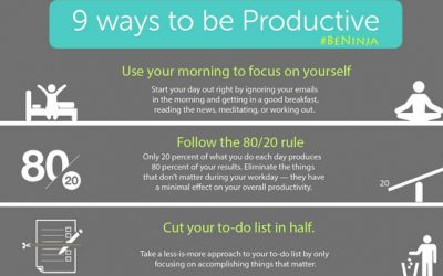 "9 Ways To Be ""More"" Productive"