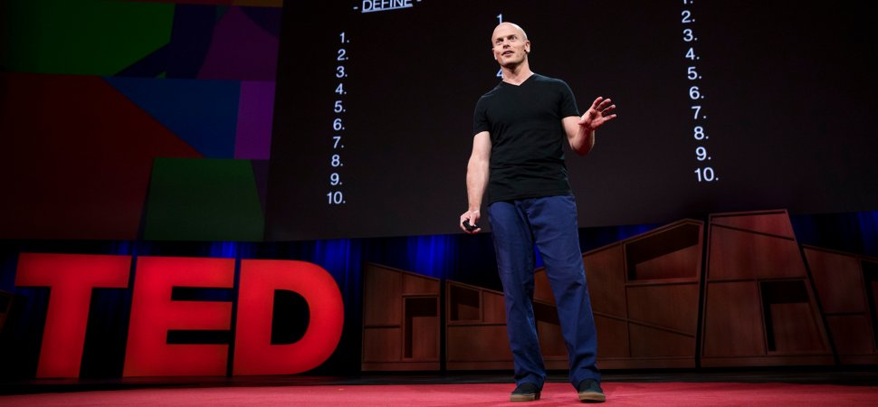 """Tim Ferriss Shares His Favorite 3 Step Exercise Called """"Fear-Setting"""" On TED."""